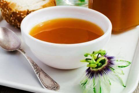 Man kan kontrollere blodtrykker med passionsfrugt som en te