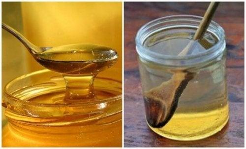 Varmt vand og honning mod ondt i halsen