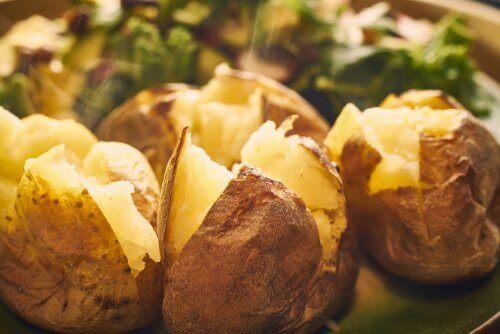 Kartofler er fedtfattige