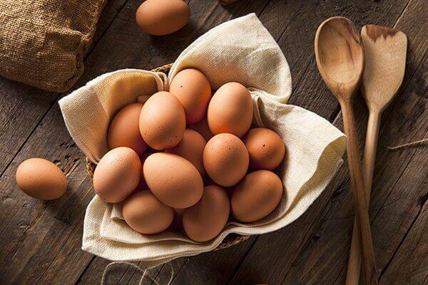 Æg er sundt og styrker håret