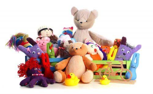 legetøj  kan føre til et forkælet barn