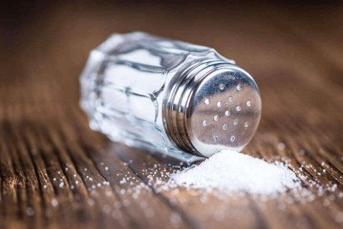undgå for meget salt