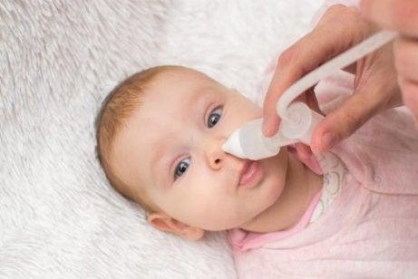 saltvand er et alternativ til vicks vaporub til børn under to år