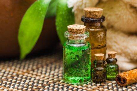 Æterisk tea træ olie