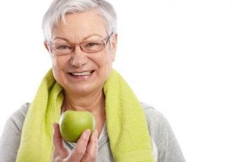Vægtforøgelse med alderen: Spis dig ud af det