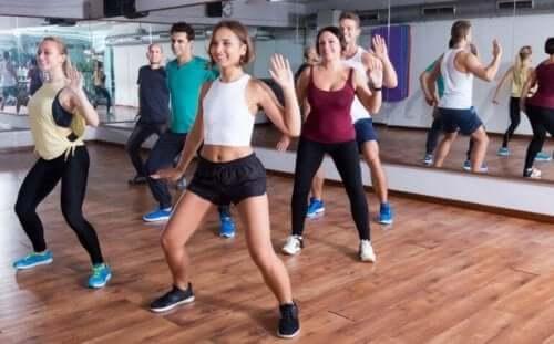 En dansegruppe