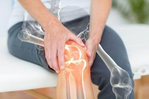 Knogler og led påvirket af stærke smerter