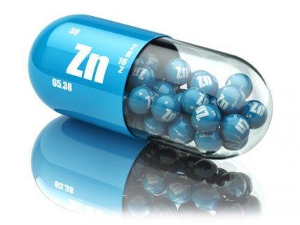 kosttilskud af zink i kapsel