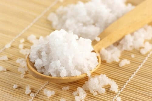 En ske med Epsom salt