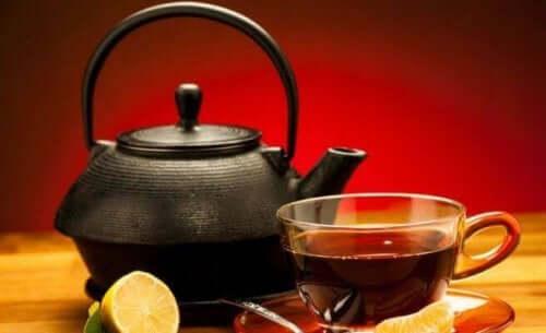Denne sorte te er antioxidant