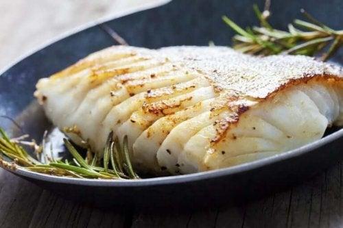 Bagt havbars er super lækkert og nærende og anbefales i en fedtfattig kost
