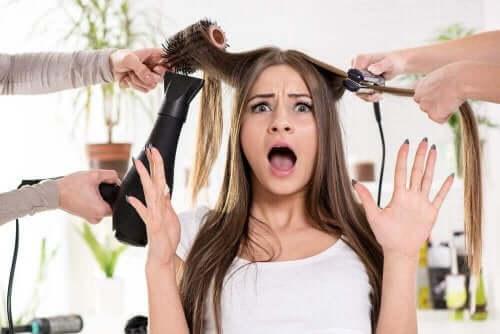 Syv behandlinger til tørt hår