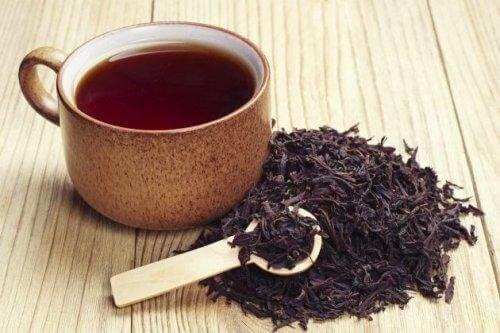 Sort te kan bruges til mange forskellige behandlingsformer