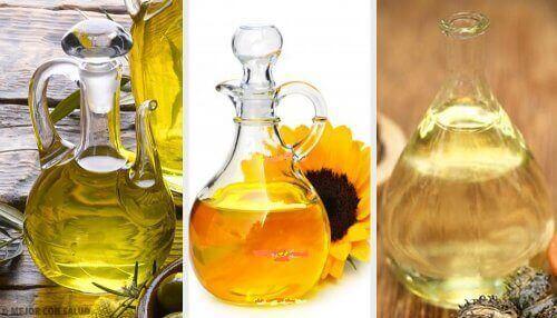 Vegatibilske olier er sunde og gode for dit helbred