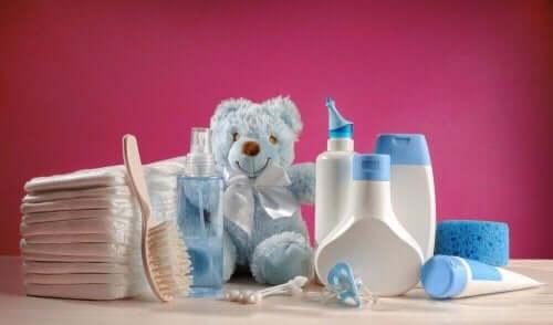 Plejeprodukter til baby