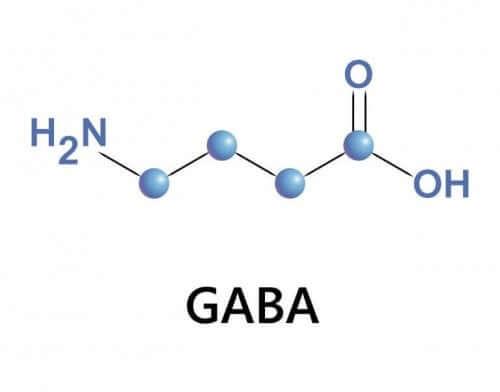 GABA som kemisk formel