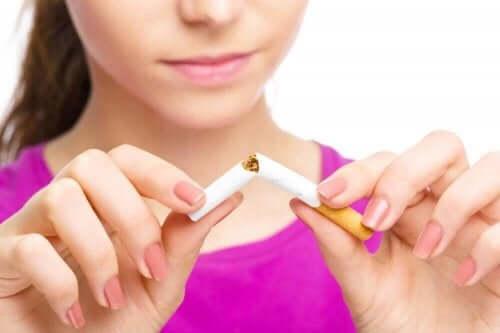 Fem positive ændringer, når du holder op med at ryge