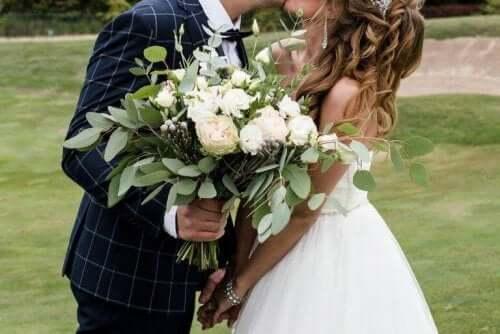 Nogle par vælger en dato, der allerede betyder noget særligt for dem, til deres bryllup