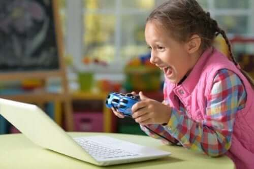 Mit barn kan ikke stoppe med at spille videospil