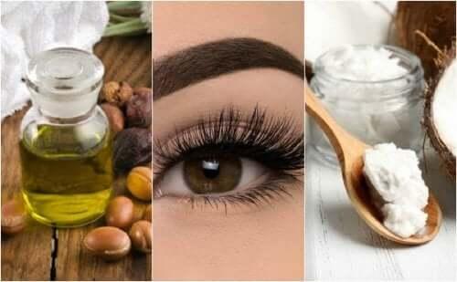 Et hjemmelavet middel med olier og vitaminer styrker dine øjenvipper