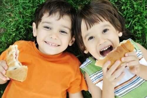 Syv almindelige madfejl for forældre