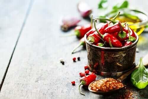 Chili i skål