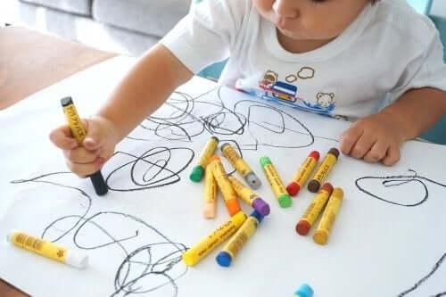 Fordelene ved at tegne for børn