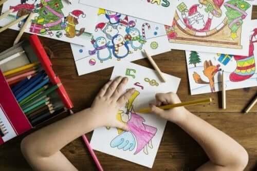 Otte fordele ved at tegne for børn
