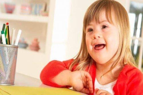 Sådan opdrager du et barn med Downs syndrom