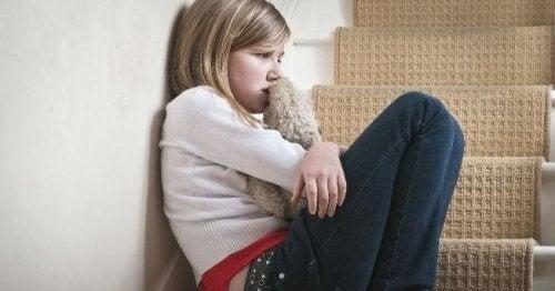 Angst kan være et tegn på overgreb på børn