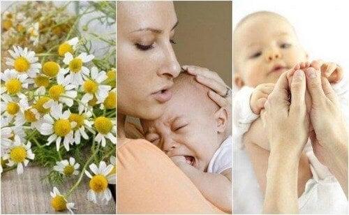 Spædbarnskolik: 5 naturlige midler mod det