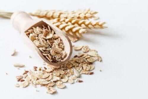 Udskift kommercielt morgenmad med fuldkornsprodukter