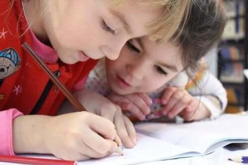 fordele ved at tegne for børn