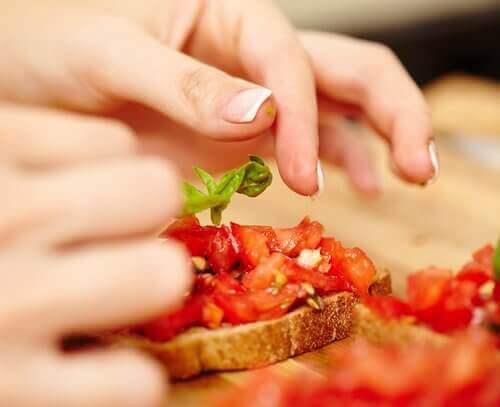 Prøv disse lette vegetariske snacks