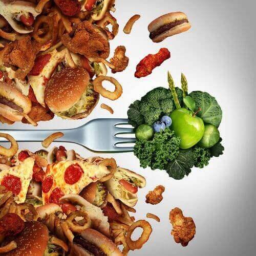 Grøntsagr og fed mad bør overvejes i en kost til type 2 diabetes