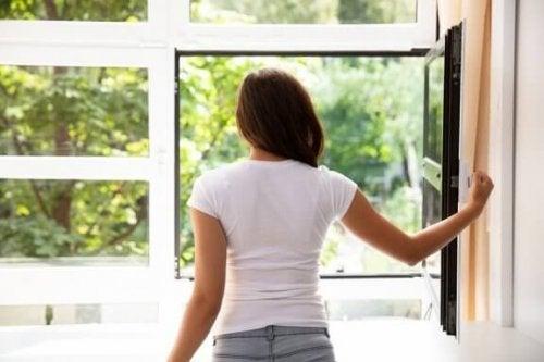 Syv metoder til at rense luften i hjemmet