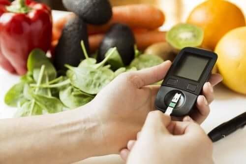 Måler af glykæmisk indeks