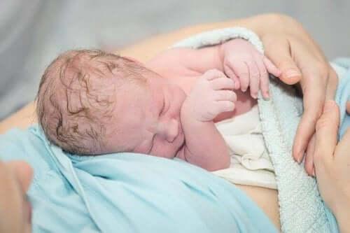 For tidligfødte babyer har en højere risiko for at lide af perinatal asfyksi