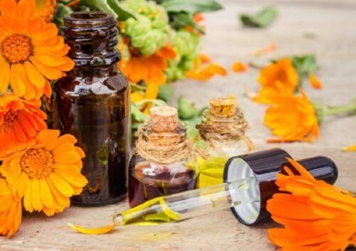 Arnica (volverlej) har antiinflammatoriske virkninger til at forbedre en forstuvet ankel med naturlige midler