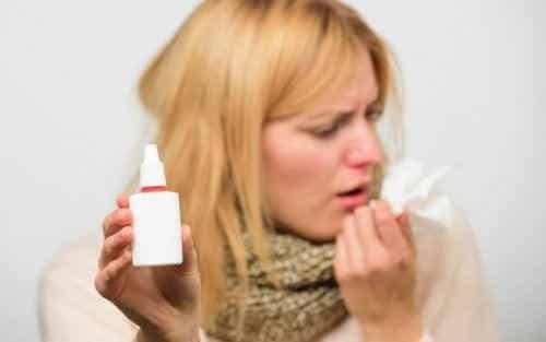 Sådan kan du bruge næsesprays korrekt