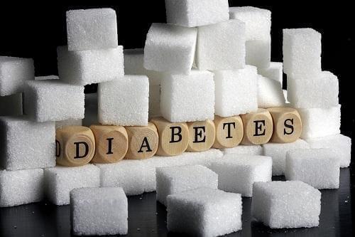 Sukkerknalder med teksten diabetes