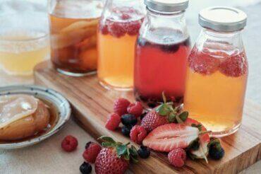 Lær at lave lækre frugtdrikke: 5 lette opskrifter