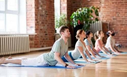Yoga har også øvelser mod lændesmerter