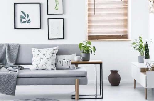 Sådan anvender du minimalisme i hjemmet