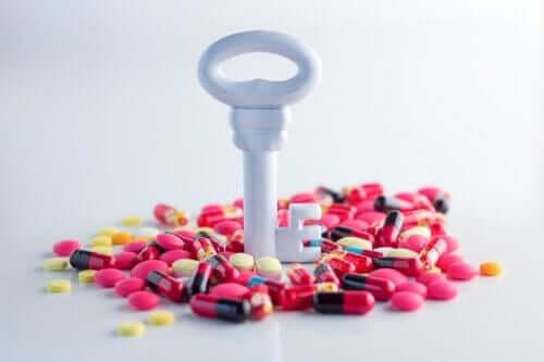 Nøgle i mange piller