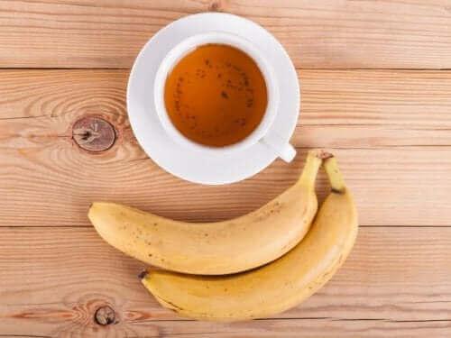 Bananer indeholder mineraler, der kan fremme vækst og udvikling af planter