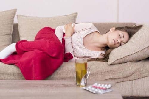Naturlige midler mod menstruationssmerter
