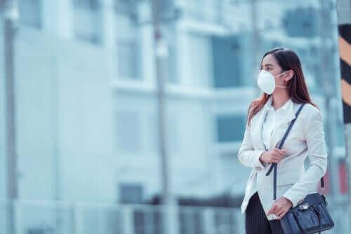 Typer af mundbind til at beskytte mod coronavirus