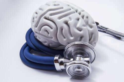 Hjerne og stetoskop