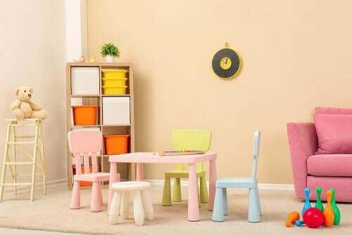 Gode møbler til at indrette et børneværelse